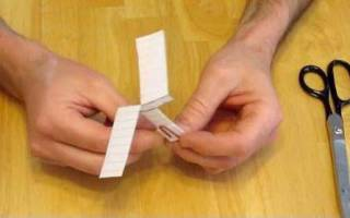 Как сделать из бумаги вертолет который летает