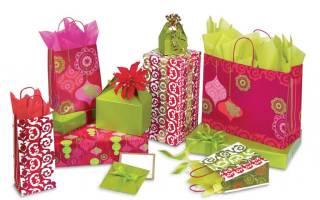 Как сделать бумажный пакет для подарка