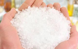 Солевой раствор для суставов как сделать