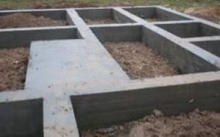 Сделать фундамент под стоящий дом цена