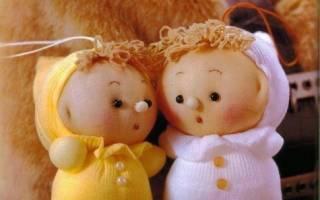Сделать куклу из капронового колготок мастер класс
