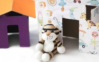 Как сделать игрушку из картона