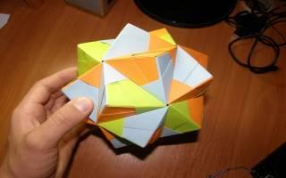 Икосаэдр как сделать из бумаги