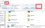 Как сделать видимыми скрытые папки windows 10
