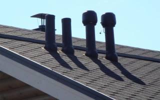 Как сделать вентиляцию на крыше