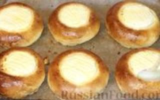 Как сделать булочки с творогом