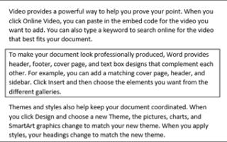 Как сделать границы страницы в ворде