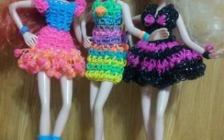 Как сделать из резинок для кукол