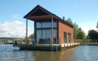 Как сделать дом на воде