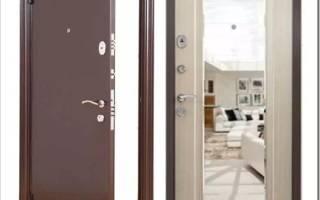 Как сделать зеркало в двери