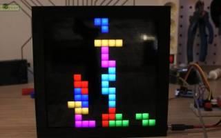 Игра tetris сделанная в делфи 7