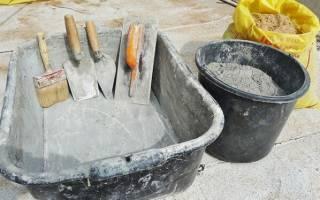 Как сделать бетонный раствор