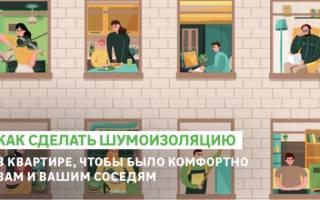 Чем сделать шумоизоляцию стен в квартире материалы