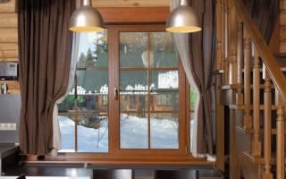 Как сделать белые пластиковые окна коричневыми
