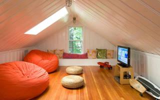 Сделать комнату на чердаке дома своими руками