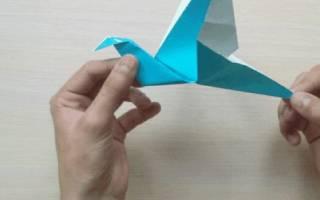Как сделать из бумаги оригами которые двигаются