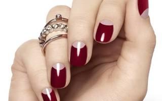 Как сделать бугорок на ногтях
