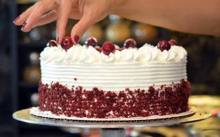 Как сделать вишневый торт