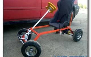 Как сделать детский электромобиль