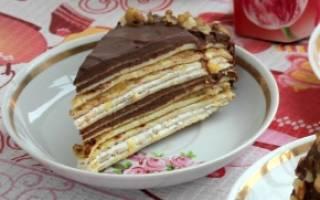 Как сделать блинный торт