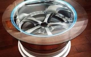 Что можно сделать из авто дисков