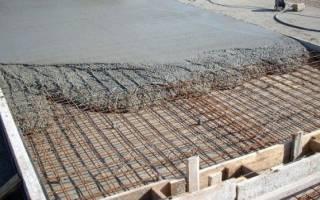 Как правильно сделать бетонную площадку под машину