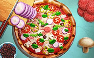 Игра сделай пиццу