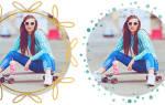Сделать круглую фотографию онлайн