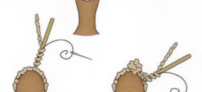 Как сделать волосы для куклы тильды