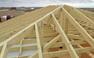Как сделать вальмовую крышу
