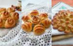 Как из теста сделать красивые булочки