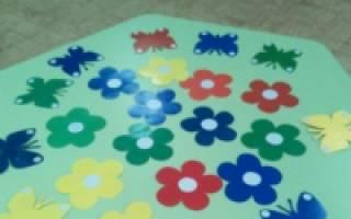 Игры самостоятельно сделаны воспитателями для дошкольников