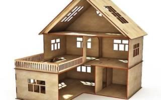 Как сделать домик из фанеры