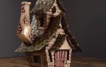 Как сделать дом из картона