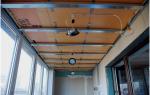 Сделать потолок из пластиковых панелей на балконе