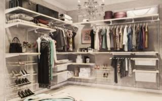 Сделать гардеробную комнату с раздвижными дверями