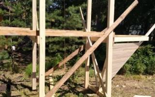 Как самому сделать детскую площадку на даче