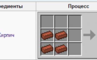 Как сделать каменный блок в майнкрафте