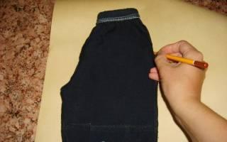 Как из детских джинс сделать шорты ребенку