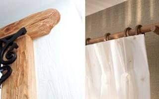 Как сделать гардину из пластиковой трубы