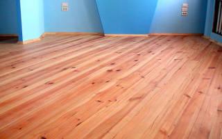 Как сделать деревянный пол в квартире