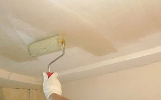 Перед побелкой потолка что нужно сделать