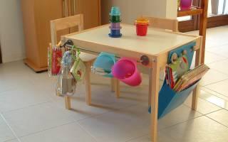 Как сделать детский столик