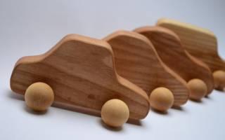Как сделать игрушку из дерева