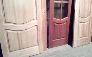 Как сделать дверь из дерева своими руками