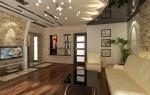 Какой сделать потолок в зале