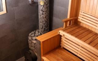Как сделать каменку в бане