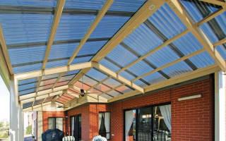Из чего сделать прозрачную крышу