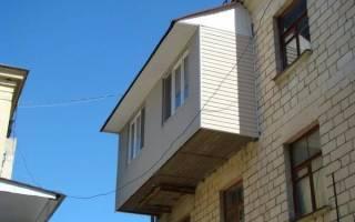 Сделать крышу на балконе