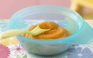 Как сделать детское пюре из кабачков